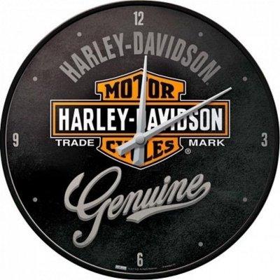 HARLEY DAVIDSON Zegar ścienny okrągły retro vintage