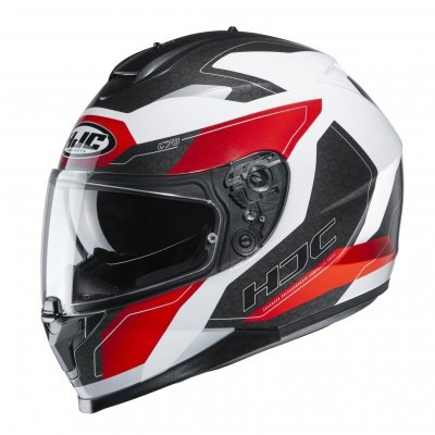 KASK HJC C70 CANEX WHITE/BLACK/RED S