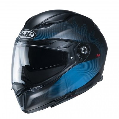 KASK HJC F70 SAMOS BLACK/BLUE M