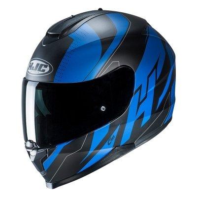 HJC C70 Kask Motocyklowy BOLTAS BLACK/BLUE
