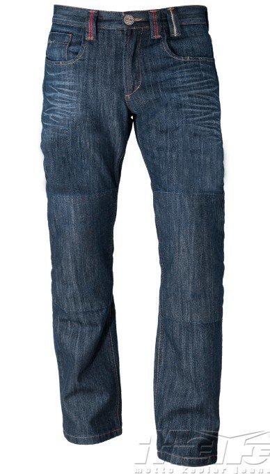 Mottowear City X jeansy spodnie motocyklowe