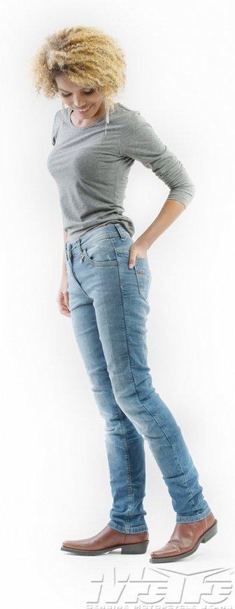 Mottowear Stella jeansy spodnie motocyklowe damskie