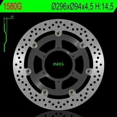 Tarcza hamulcowa przednia Honda CBR 600F / ABS (11-13)