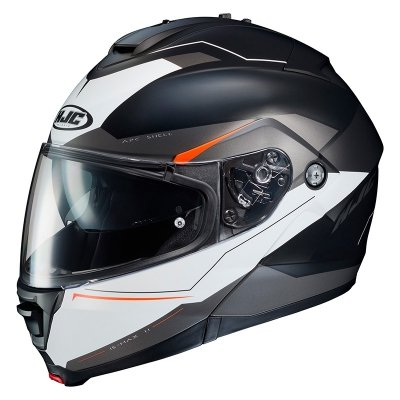 HJC IS-MAX II Kask Motocyklowy MAGMA BLACK/WHITE/RED