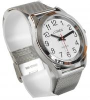 Męski zegarek mówiący TEMPUS bransoleta