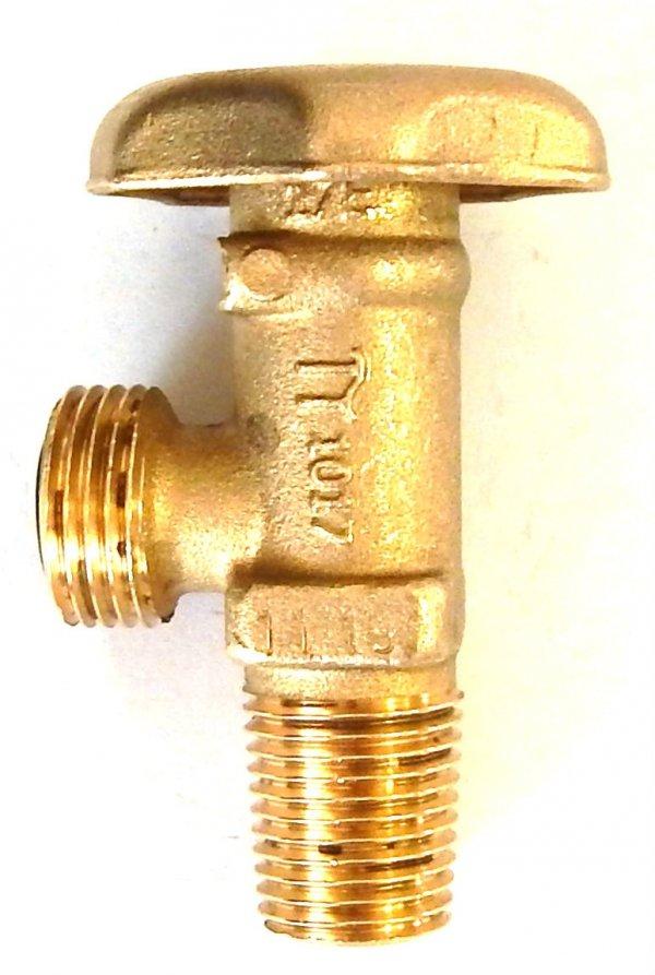 Zawór Propan-Butan 17E (mały czop) standard