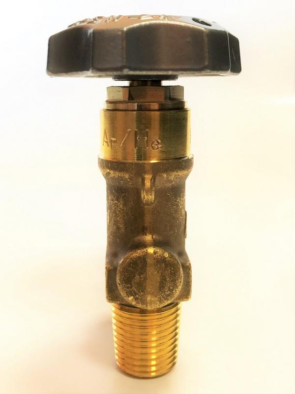 Zawór argon hel 17E (mały czop) W21.8 200 bar PERGOLA najwyższa jakość