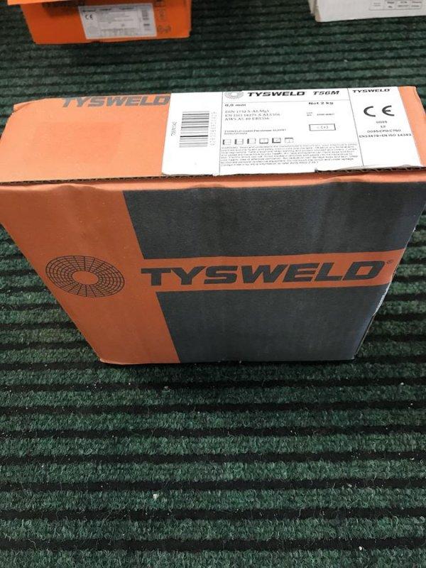 Drut spawalniczy ALMg5 0,8/2 kg Tysweld