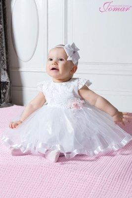 Sukienka chrzest 860(kap)