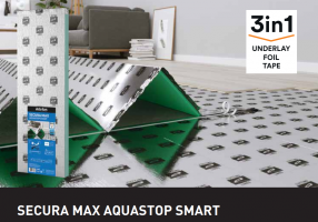 PODKŁAD ARBITON SECURA MAX AQUASTOP SMART gr. 5 mm