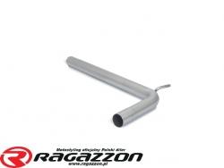 Tłumik środkowy przelotowy RAGAZZON EVO LINE sportowy wydech