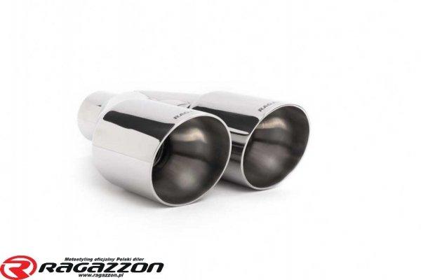 Kompletny układ wydechowy + zawór RAGAZZON EVO LINE sportowy wydech