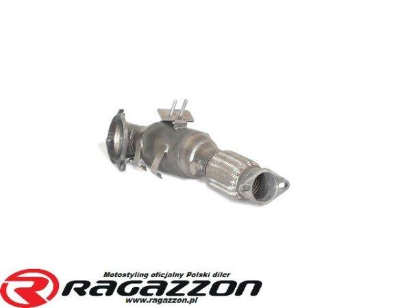 Downpipe kit + katalizator metaliczny RAGAZZON EVO LINE sportowy wydech