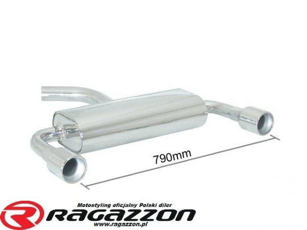 Tłumik końcowy RAGAZZON TOP LINE sportowy wydech