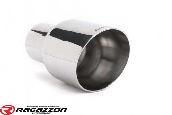 Tłumik końcowy podwójny RAGAZZON EVO H2 FLOW LINE sportowy wydech