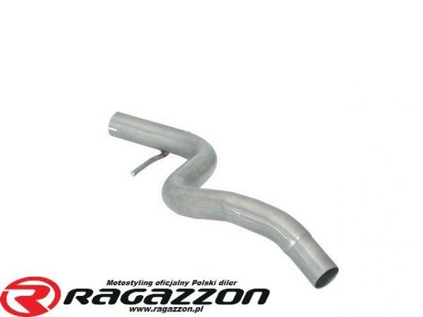 Tłumik środkowy przelotowy RAGAZZON Volkswagen Golf III 1.9 TDI / 2.0 GTI sportowy wydech