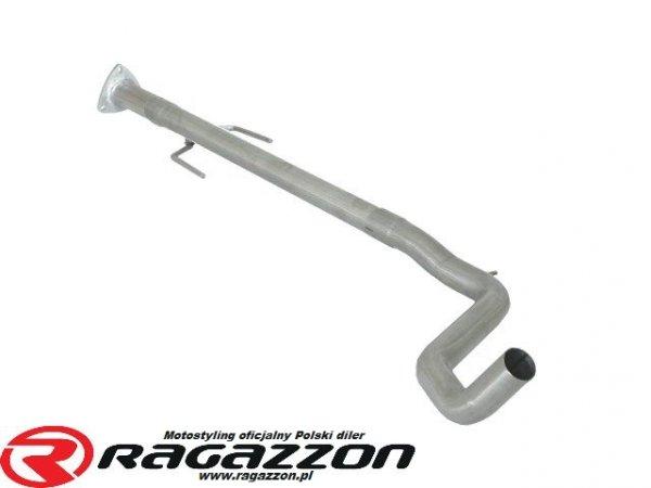 Filtr DPF cząstek stałych + tłumik środkowy przelotowy RAGAZZON EVO LINE sportowy wydech