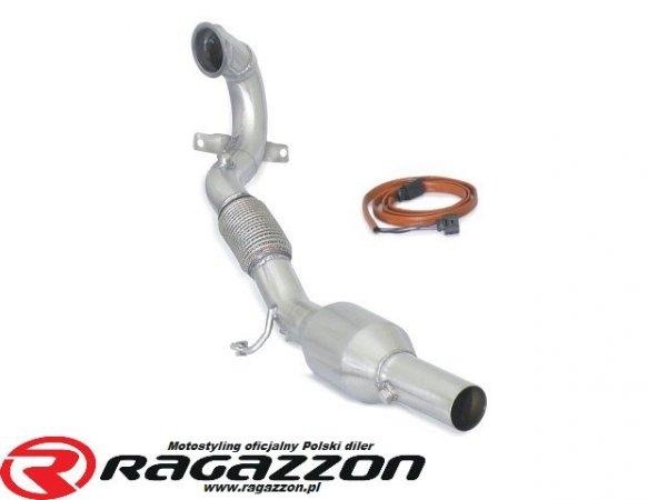 Downpipe kit + katalizator metaliczny 200cpsi RAGAZZON EVO LINE sportowy wydech