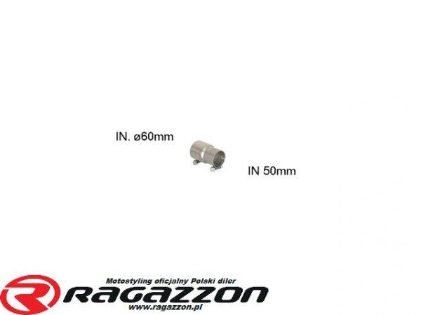 Złączka / przejściówka wydechu RAGAZZON EVO LINE sportowy wydech