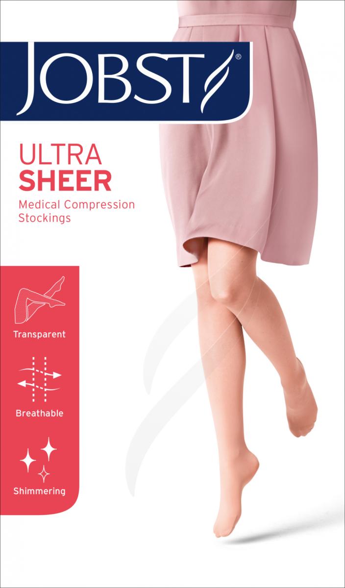 JOBST ULTRA SHEER Podkolanówki II stopnia ucisku (23-32 mmHg)