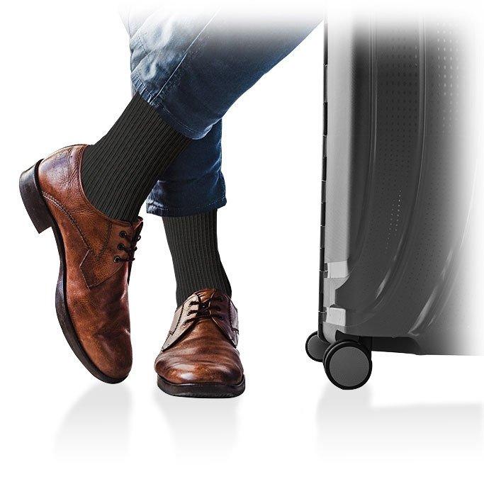 ARIES Podkolanówki uciskowe Avicenum 360 Travel dla mężczyzn (podróżne) 23-32mmHg