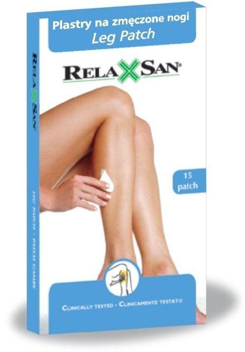 Plastry na zmęczone i bolące nogi RelaxSan
