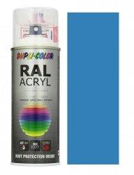 MOTIP lakier niebieski jasny farba połysk 400 ml akrylowy acryl szybkoschnący RAL 5012