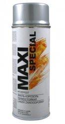 Maxi farba żaroodporny wysokotemp spray emalia srebrna 400ml