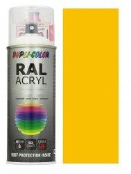 MOTIP lakier żółty drogowy farba połysk 400 ml akrylowy acryl szybkoschnący RAL 1023