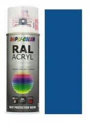 MOTIP lakier niebieski drogowy farba połysk 400 ml akrylowy acryl szybkoschnący RAL 5017