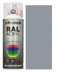 Motip lakier srebrno szary farba połysk 400 ml akrylowy acryl szybkoschnący RAL 7001