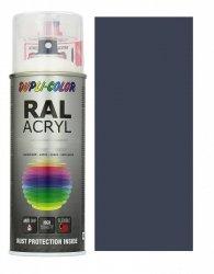 Motip lakier szary łupkowy farba połysk 400 ml akrylowy acryl szybkoschnący RAL 7015