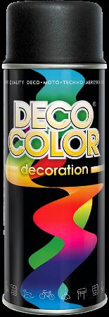 Czarny mat farba lakier spray aerozol 400ml RAL 9005