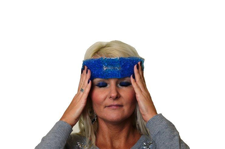 Opatrunek żelowy na głowę (migrenę) - chłodzący i grzejący