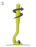 Szczypce do wyciągania kleszczy - Kleszczołapki (Tick Twister), kleszczołapka na kleszcze