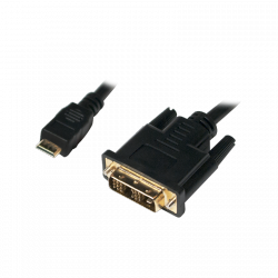 LOGILINK - Kabel mini HDMI do DVI-D M/M,2m