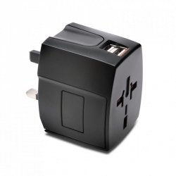 Adapter Kensington Travel Adapter USB 2.4A (110V/230V)