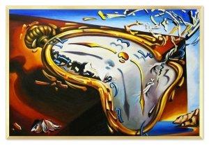 Obraz reprodukcja Salvador Dali Trwałość pamięci