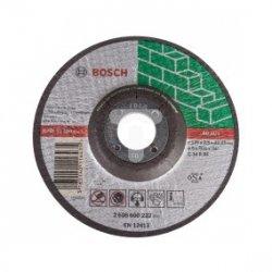 Tarcza tnąca wygięta do betonu/ kamienia Inox C 24 R BF  125x2,5x22,23mm 2608600222