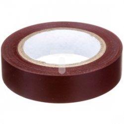 Taśma elektroizolacyjna PVC brązowa TO 15/10 BR E05ME-02010101001 /10szt./