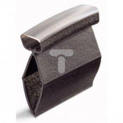 Tulejki oznacznikowe długość 12mm czarne do żył 2,5-6mm2 211-114
