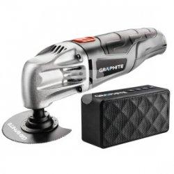 Urządzenie wielofunkcyjne 180W ilość oscylacji 20000 min-1 + walizka + głośnik Bluetooth 59G020-PSG
