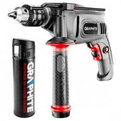 Wiertarka udarowa 650W uchwyt kluczykowy 13 mm + termos 58G716-PSG