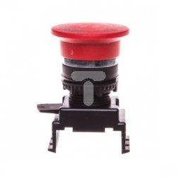 Napęd z guzikiem grzybkowym 40mm czerwony przez pociągnięcie HG55B1 004770024