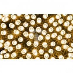 Komplet choinkowy kurtynka sople 100l z gniazd. wył. czasowy biały ciepły 5m 230V/31V 8,4 W IP44 na zewnątrz i do wnętrz 13-558