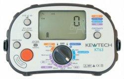 KT63 Wielofunkcyjny miernik instalacji elektr. KEWTECH