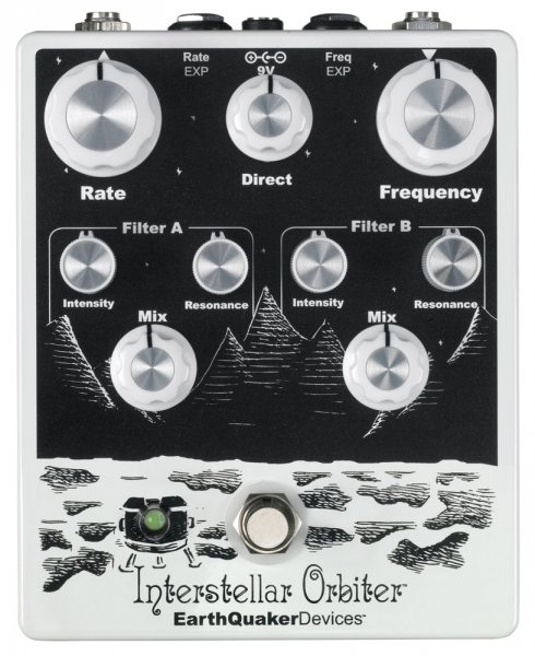 EarthQuaker Devices Interstellar Orbiter - Dual Resonant Filter / LFO