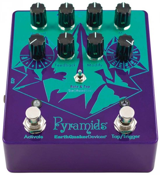 EarthQuaker Devices Pyramids -Stereo Flanger