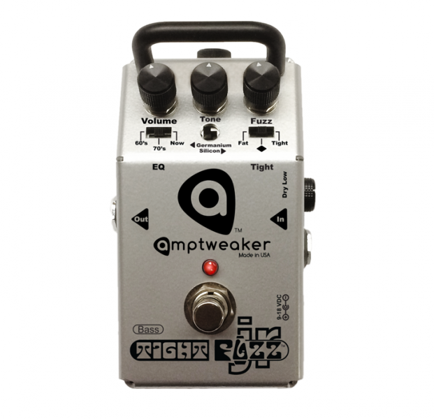 Amptweaker Bass TightFuzz JR - Mini Silicon / Germanium Bass Fuzz