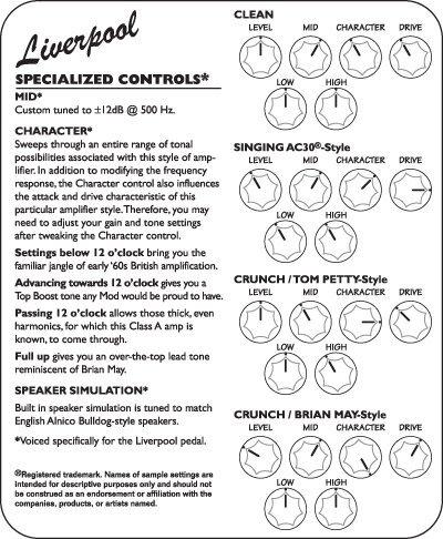 Tech 21 SansAmp Character Liverpool Transport Gratis